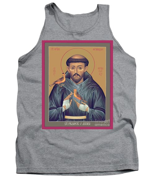 St. Francis Of Assisi - Rlfob Tank Top