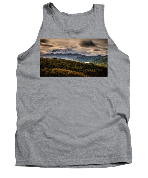 Tank Top featuring the photograph St. Helens Wrath by Dan Mihai