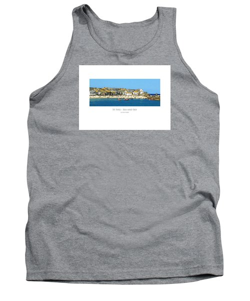 St Ives Sea And Sky Tank Top