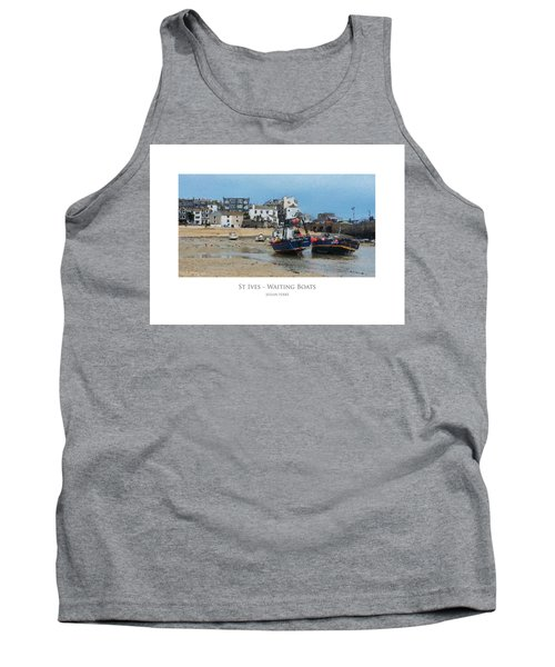 St Ives - Waiting Boats Tank Top