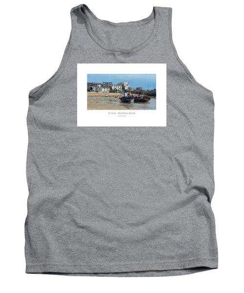 St Ives - Waiting Boats Tank Top