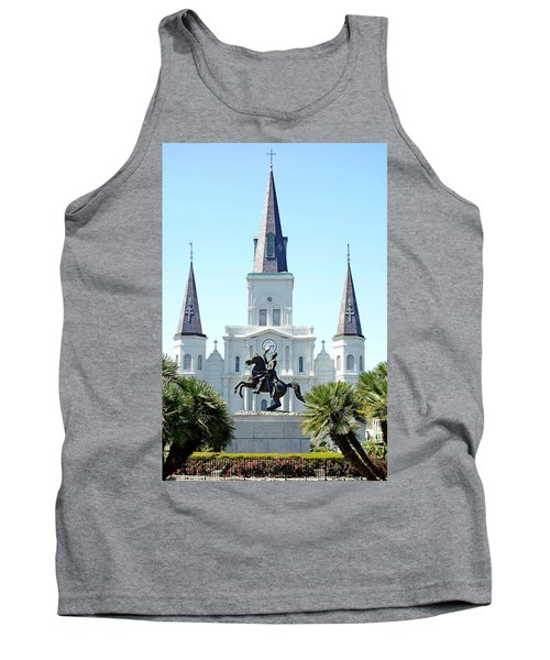 St. Louis Cathedral From Jackson Square Tank Top