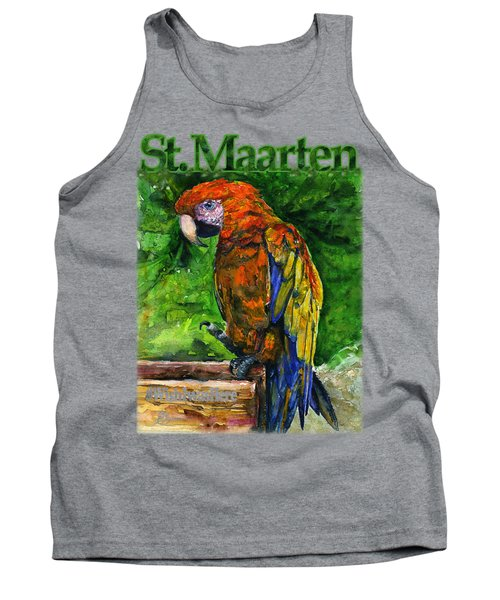 St. Maarten Shirt Tank Top