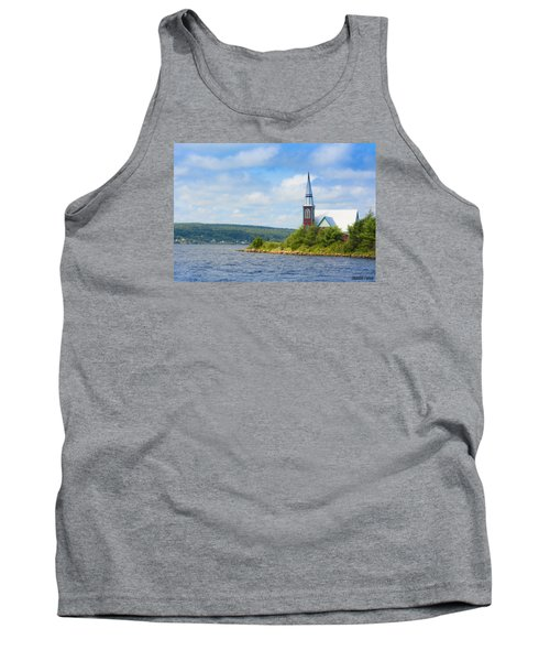 St Marks In Middle Lahave Nova Scotia Tank Top by Ken Morris