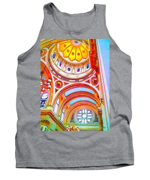 St. Mary Of The Angels 1 Tank Top by Dave Luebbert
