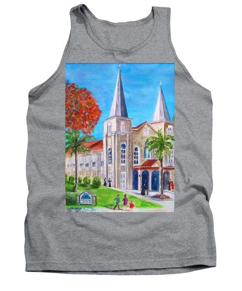 St. Mary's Catholic Church Key West Tank Top