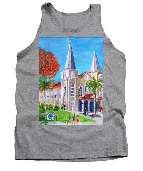 St. Mary's Catholic Church Key West Tank Top
