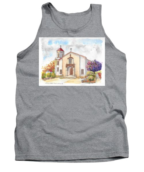 St. Mary's Catholic Church, Oakdale, California Tank Top