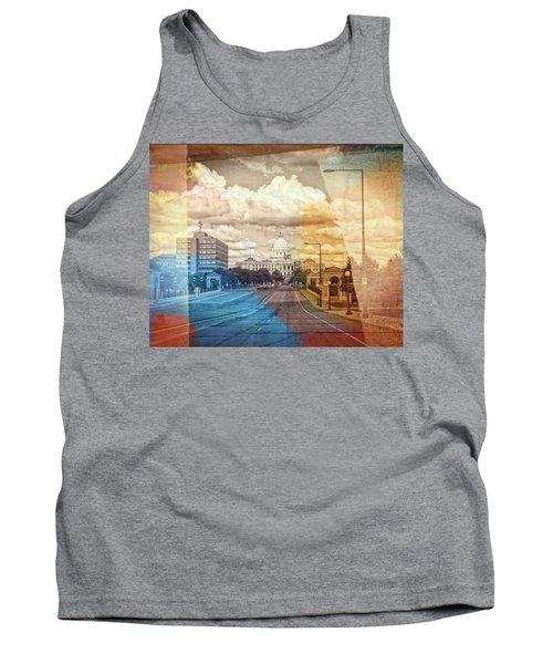Tank Top featuring the photograph St. Paul Capital Building by Susan Stone