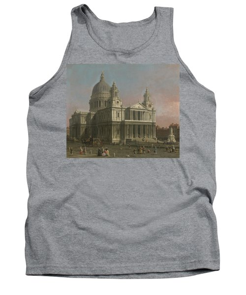 St. Paul's Cathedral Tank Top by Giovanni Antonio Canaletto