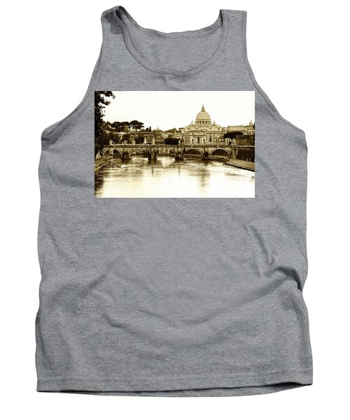Tank Top featuring the photograph St. Peters Basilica by Mircea Costina Photography
