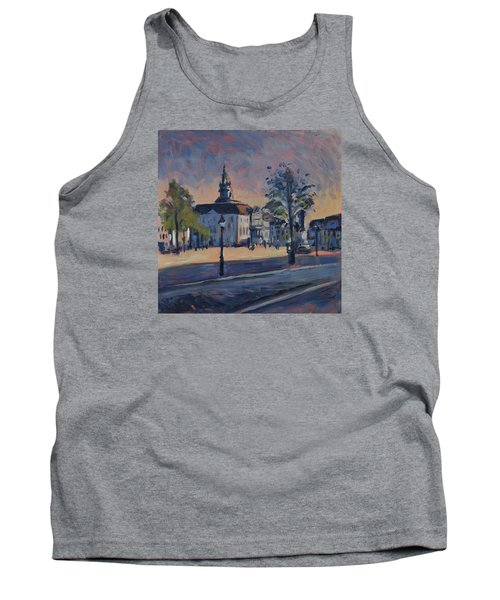 Tank Top featuring the painting Stadhuis Maastricht by Nop Briex