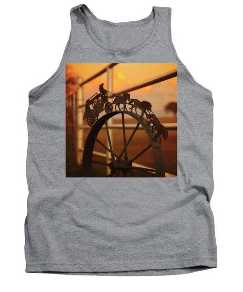 Stagecoach Sunset Tank Top