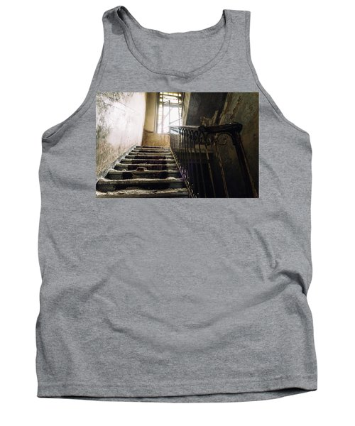 Stairs In Haunted House Tank Top