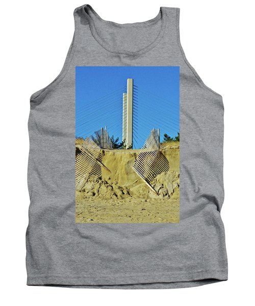 Stand The Storm Tank Top by William Bartholomew