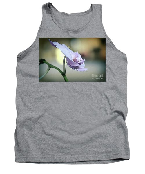 Standing Alone In Silence Tank Top