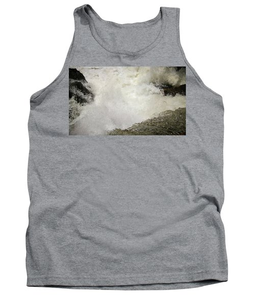 Standing On A Waterfall Tank Top