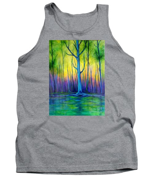 Tank Top featuring the painting Standing Tall  by Alison Caltrider