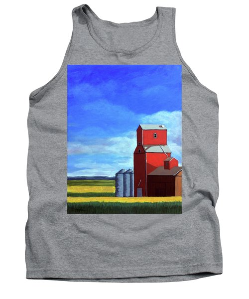 Standing Tall Tank Top by Linda Apple