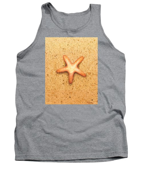 Tank Top featuring the painting Star Fish by Katherine Young-Beck