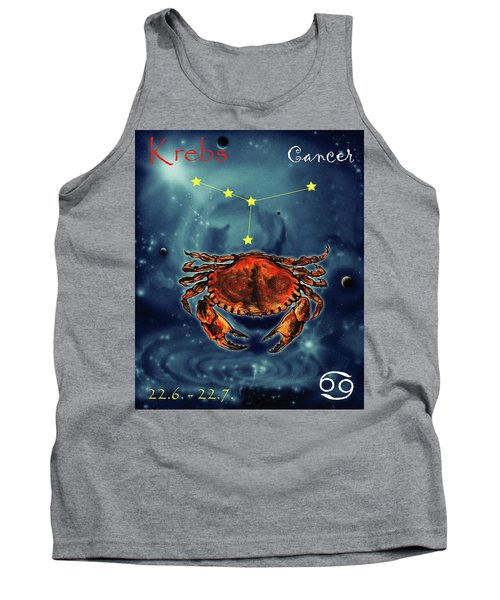 Star Of Cancer Tank Top