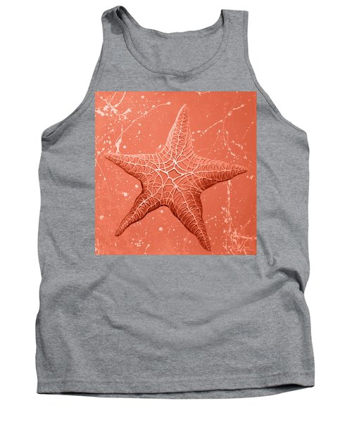 Starfish In Pink Tank Top