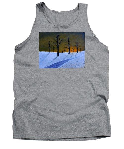 Stark Winter Sunset Tank Top