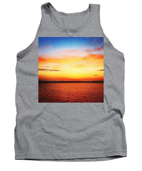 Sunset Serenade  Tank Top