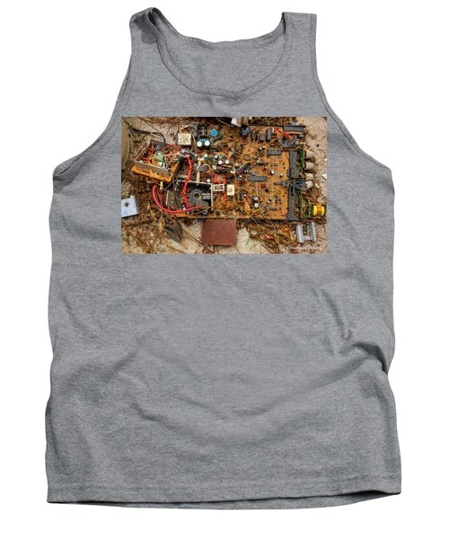 Tank Top featuring the photograph State Of The Art by Christopher Holmes