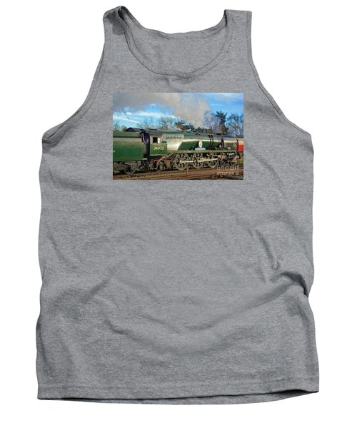 Steam Locomotive Elegance Tank Top