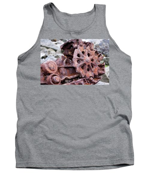 Steam Shovel Number Two Tank Top by Kandy Hurley
