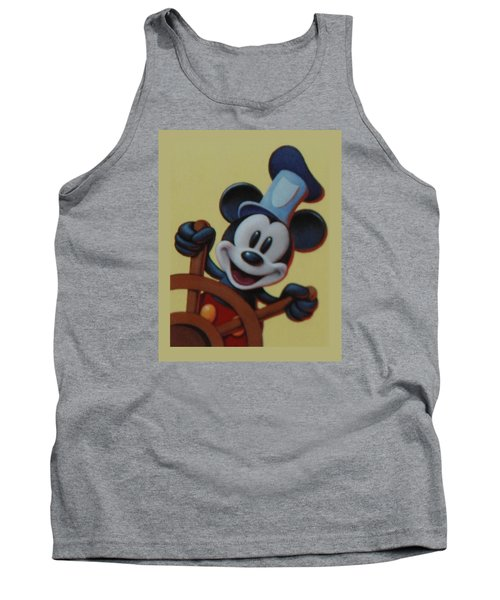 Steamboat Willy Tank Top by Rob Hans