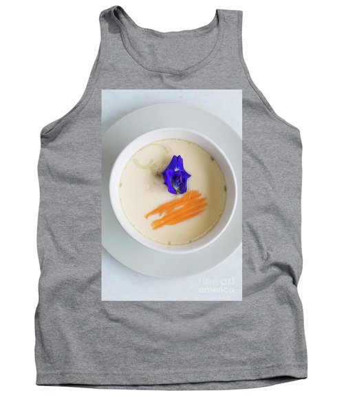 Tank Top featuring the photograph Steamed Egg by Atiketta Sangasaeng