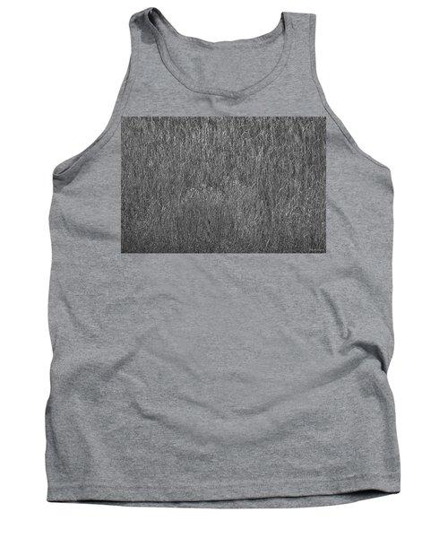 Steel Gray Grass Tank Top