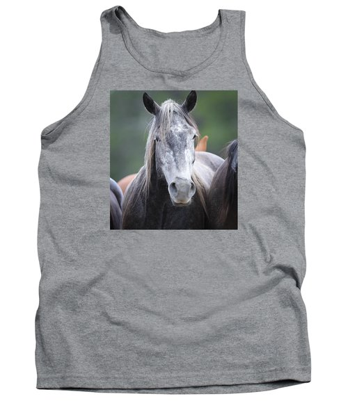Steel Grey Tank Top
