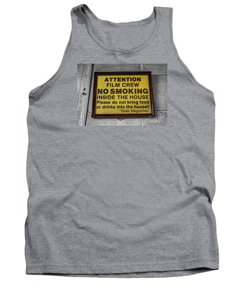 Tank Top featuring the photograph Steel Magnolias Memorabilia by Paul Mashburn