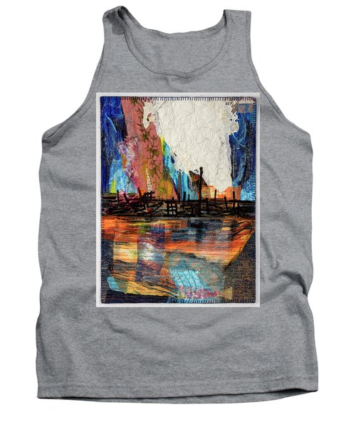 Steel Mills At Night Tank Top