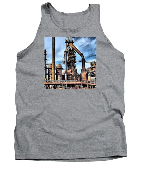 Steel Stacks Bethlehem Pa. Tank Top