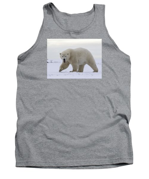 Stepping Out In The Arctic Tank Top