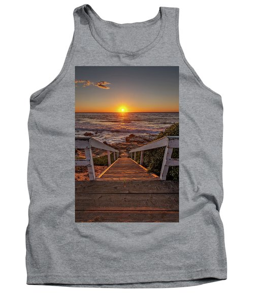 Steps To The Sun  Tank Top