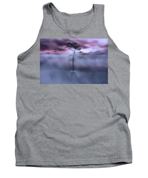 Stick Together The Storm Will Pass Tank Top by Gray  Artus