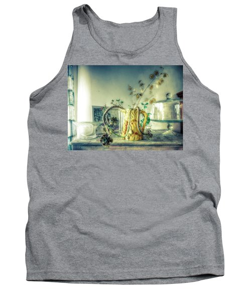 Tank Top featuring the photograph Still, Life Goes On by Wayne Sherriff