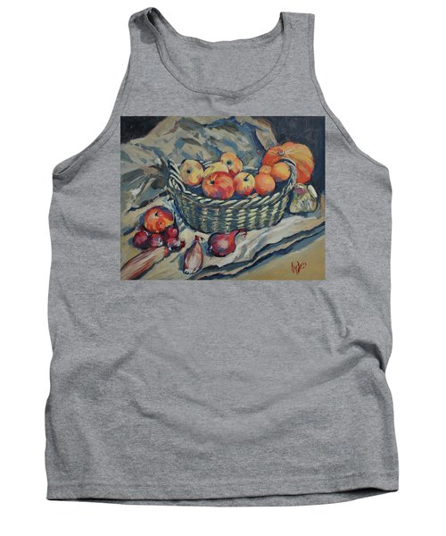 Still Life With Fruit And Vegetables Tank Top