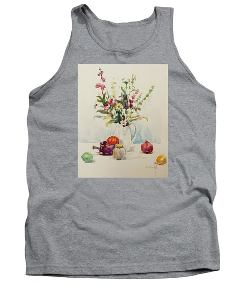Still Life With Pomegranate Tank Top