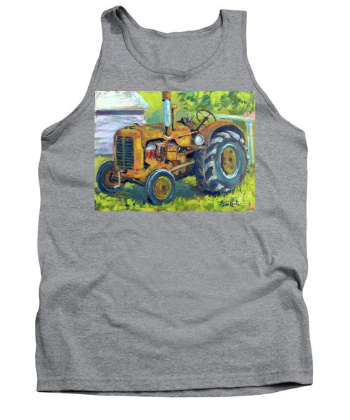 Still Workin' Tank Top by William Reed