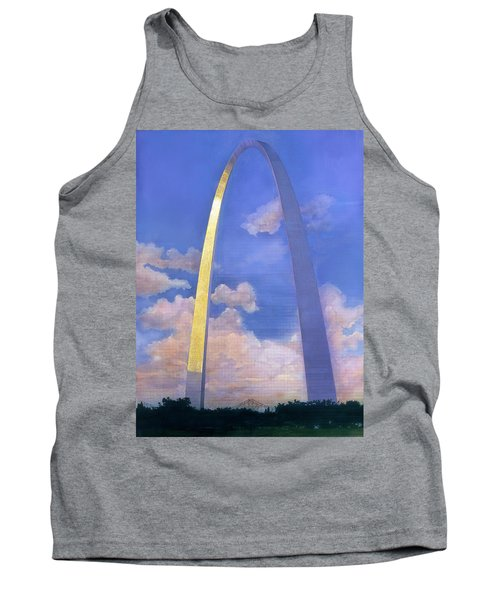 St.louis Gateway Arch Tank Top