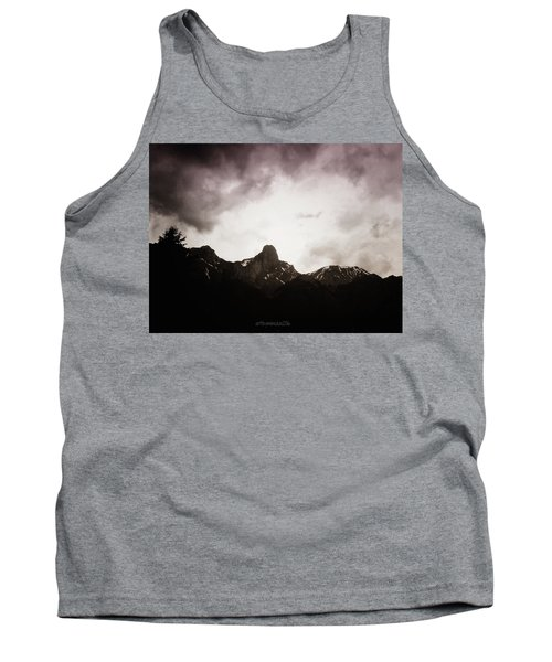 Tank Top featuring the photograph Stockhorn by Mimulux patricia no No
