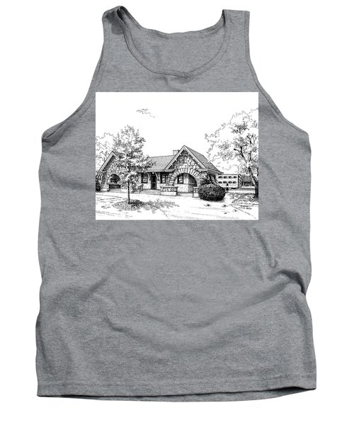 Stone Ave. Train Station Tank Top