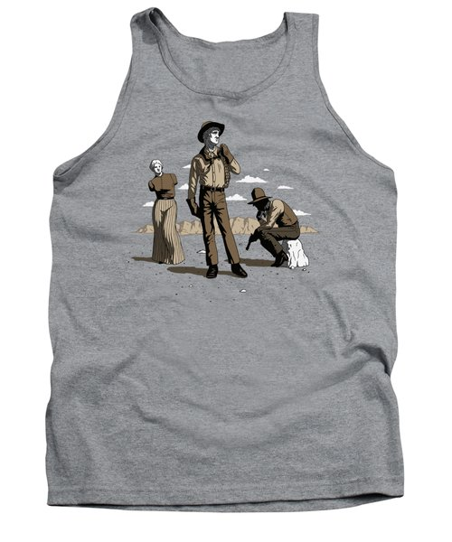 Stone-cold Western Tank Top