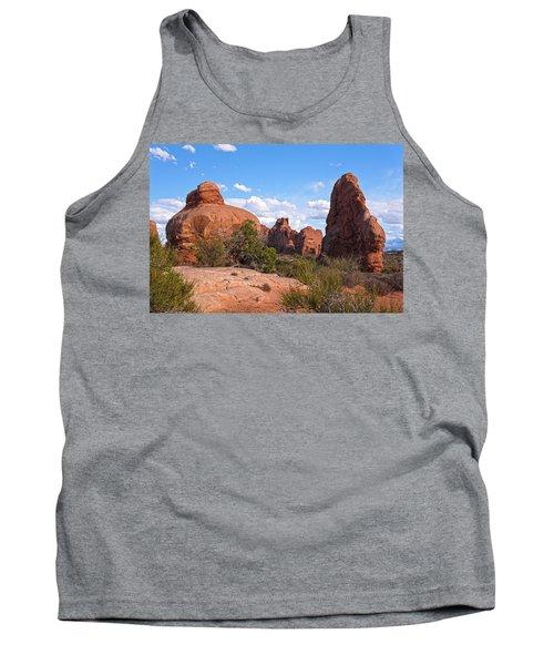 Stone Gods 0f Arches Tank Top
